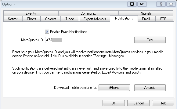 Alerts on New Bar - indicator for MetaTrader 4 | Forex MT4