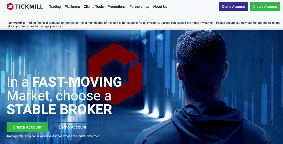 Tickmill Broker