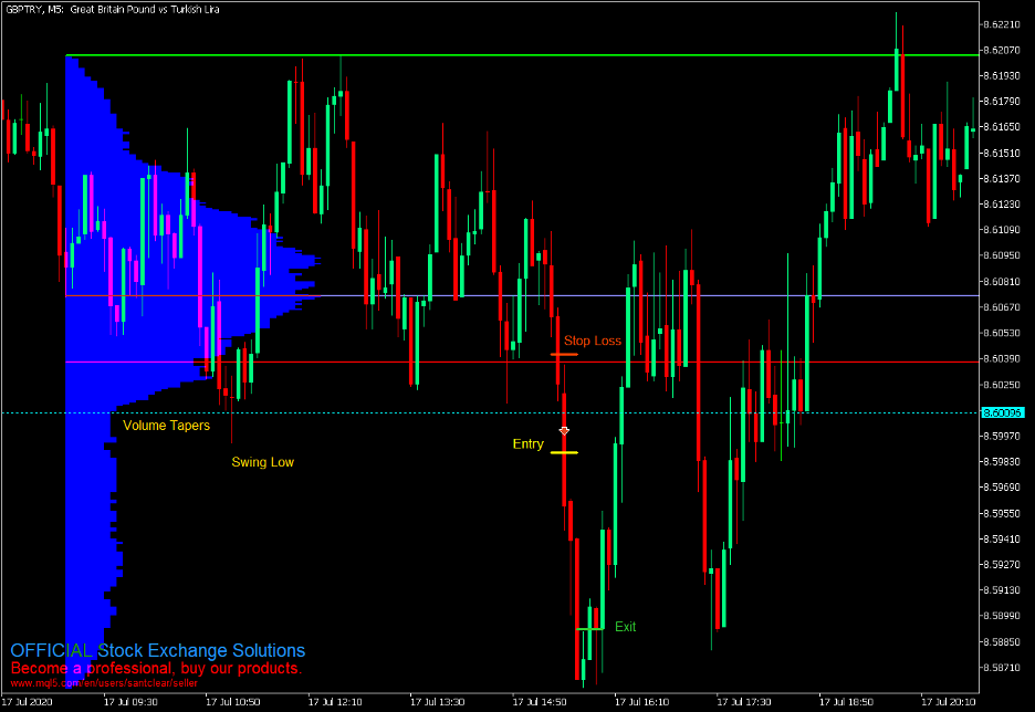 Market Profile Momentum Breakout Forex Trading Strategy – MT5 3