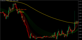 Guppy Trend Forex Trading Strategy 3