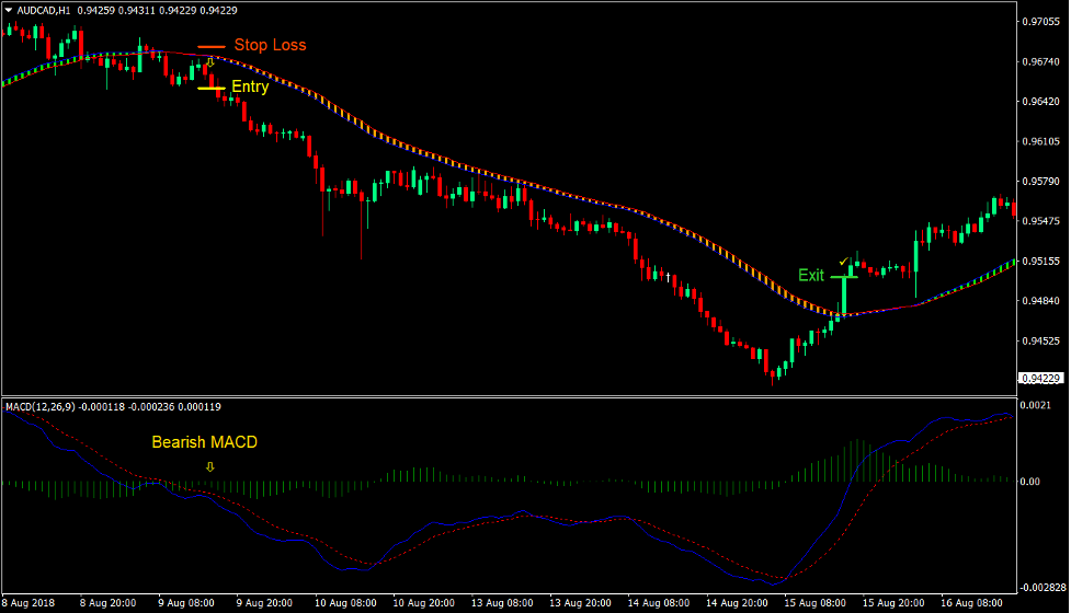 MACD SEFC Trend Reversal Forex Trading Strategy 3