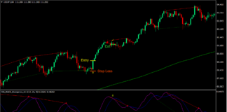 Simple MACD Divergence Forex Trading Strategy 2